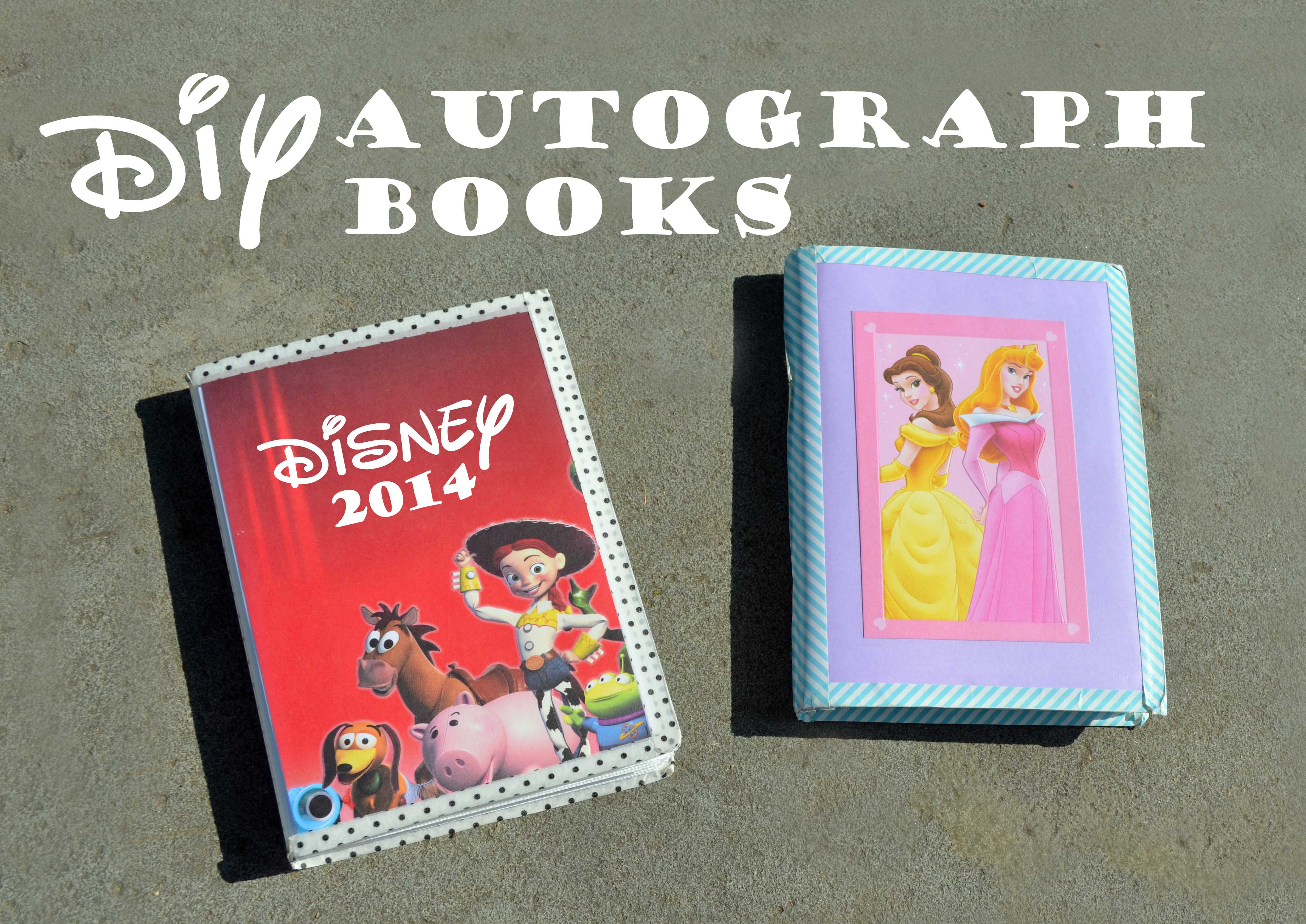 DIY Autograph Books