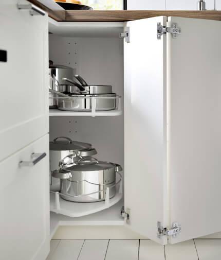 Ikea Metod - new white lazy susan