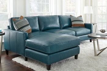 costco blue couch