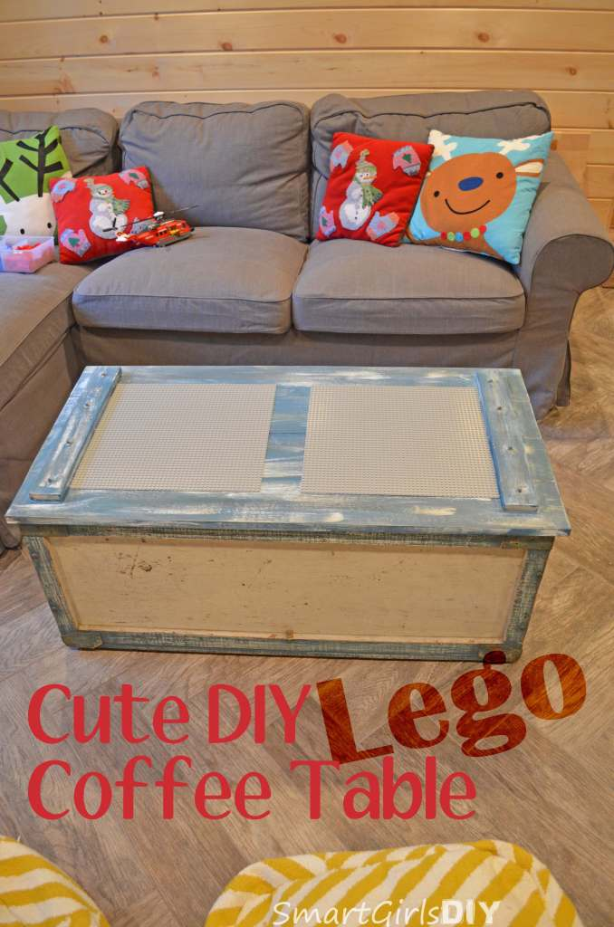 Cute DIY Lego Coffee Table