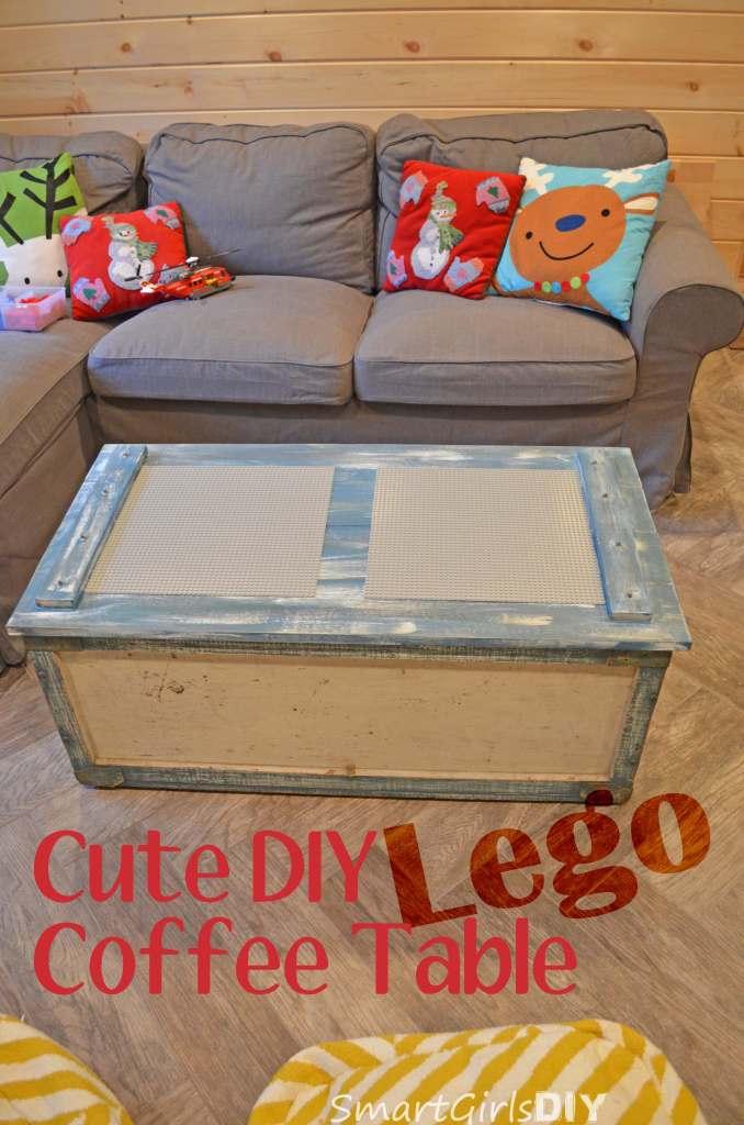 Cute DIY Lego Coffee Table