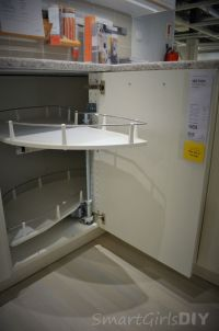 ikea corner base cabinet pull out | My Web Value