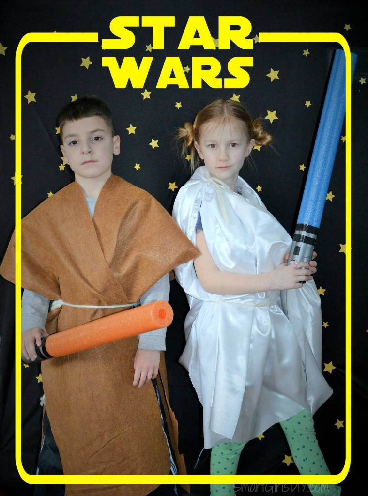 Photo booth fun - Star Wars Overlay