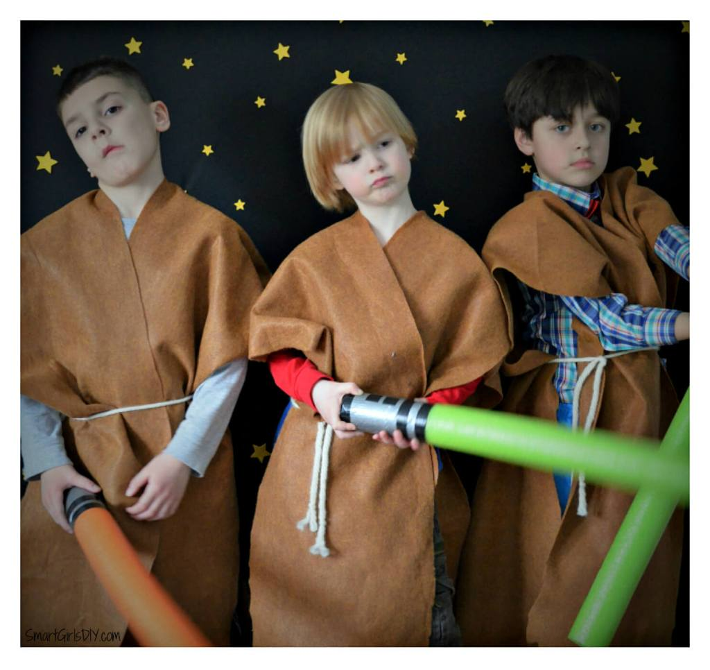 Star Wars photo booth fun