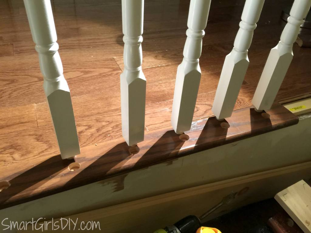 How to install spindles on your indoor staircase