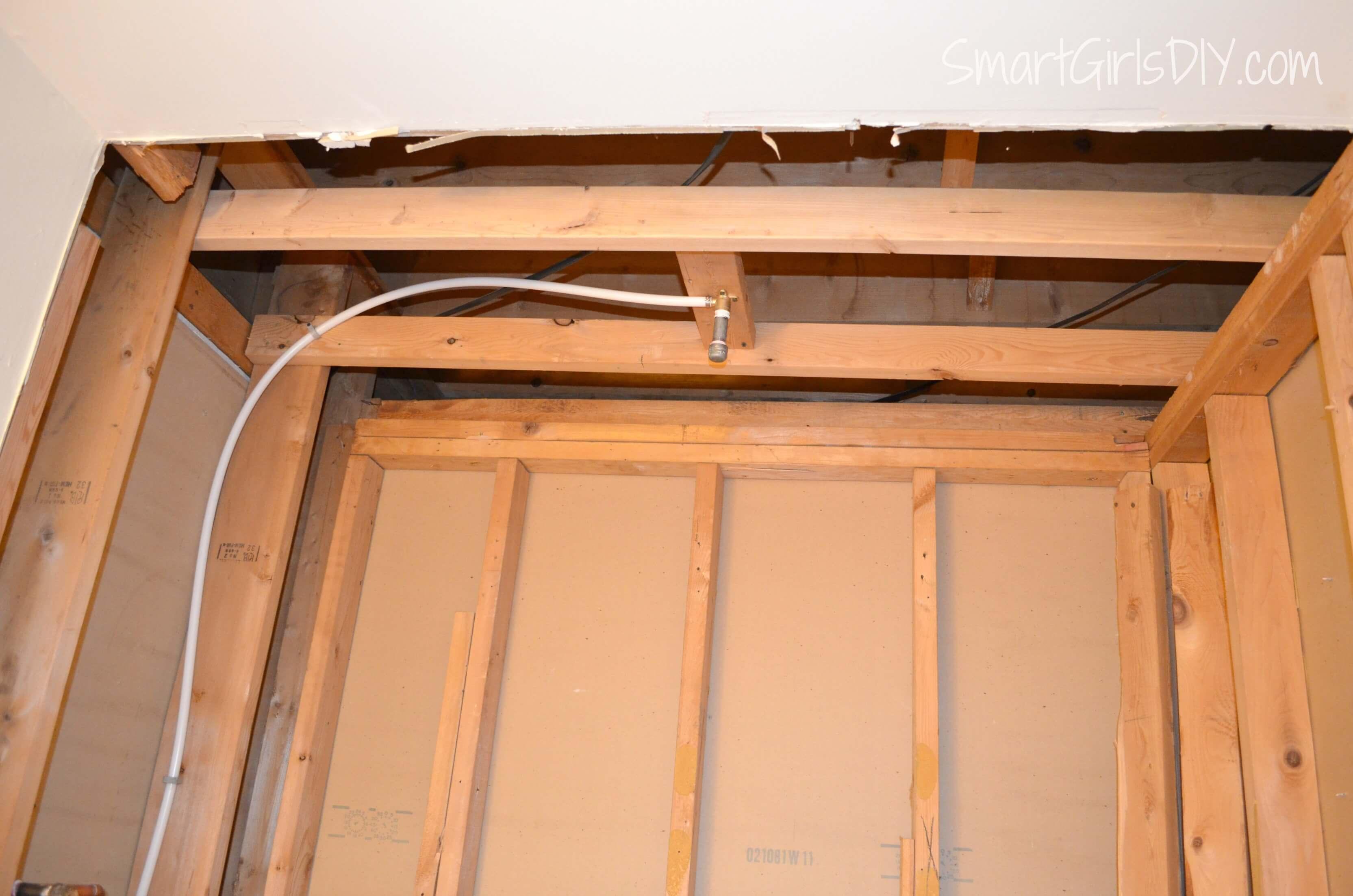 Guest Bathroom 4: Plumbing and Shower Fixtures