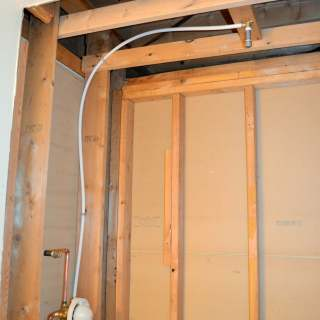 Guest Bathroom 4: Plumbing and Shower Fixtures
