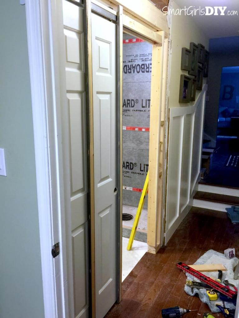 Pocket door installation - DIY tutorial