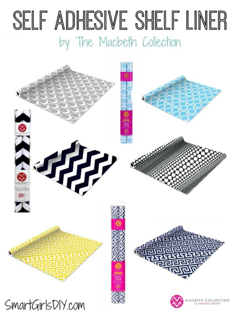 Self Adhesive Shelf Liner by The Macbeth Collection
