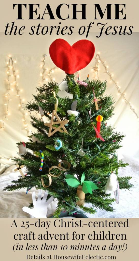 Christ-centered craft advent for kids