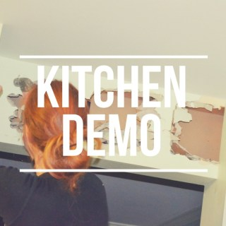 Kitchen Demo – Round 1