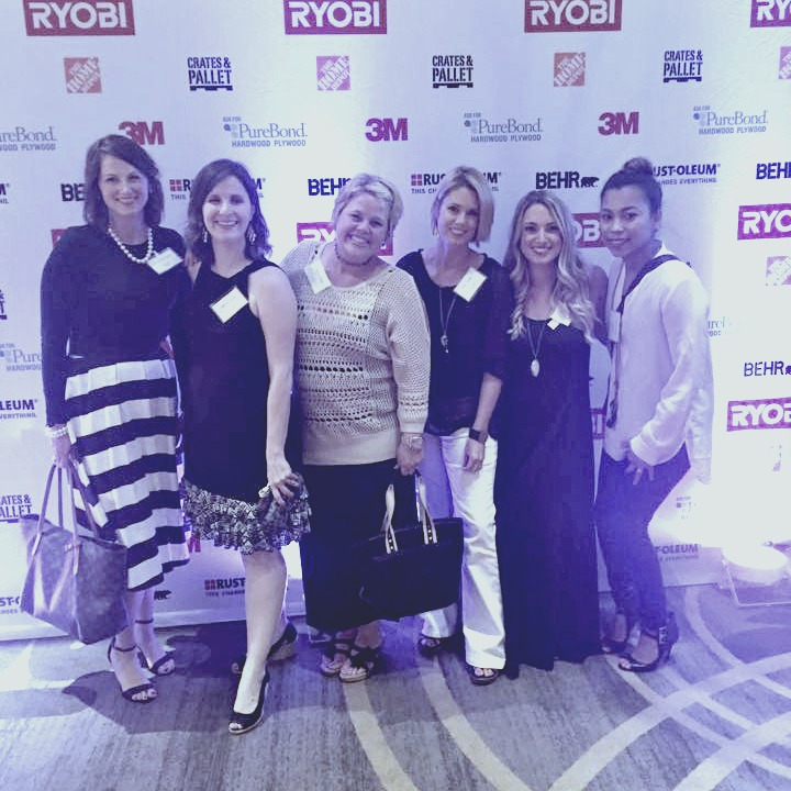 My blogging buddies at the Ryobi Soiree