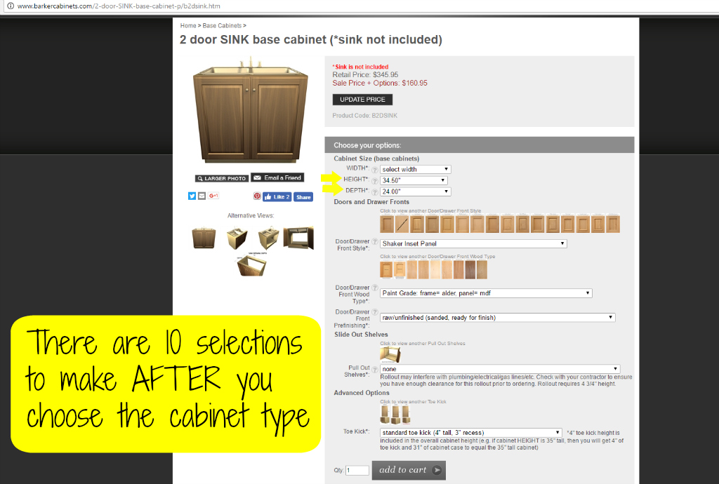 ... Barker Cabinets Lets You Customize Each Cabinet