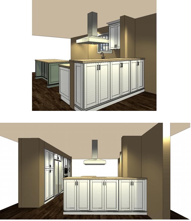 ... Cliq Studios Free Kitchen Design 2nd Draft