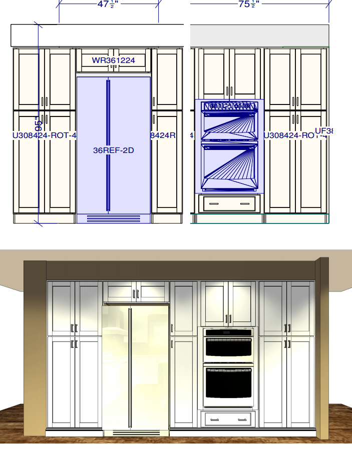 kitchen-design-with-cabinet-between-refrigerator-and-wall-oven