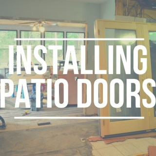 Installing Pella French-Door-Style Patio Doors