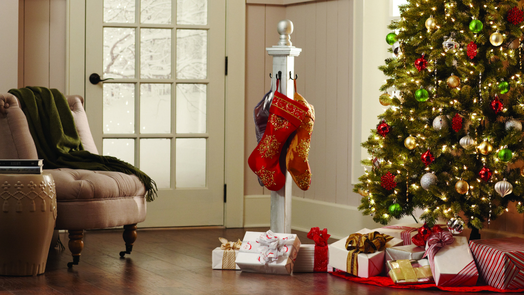 The Home Depot holiday stocking post
