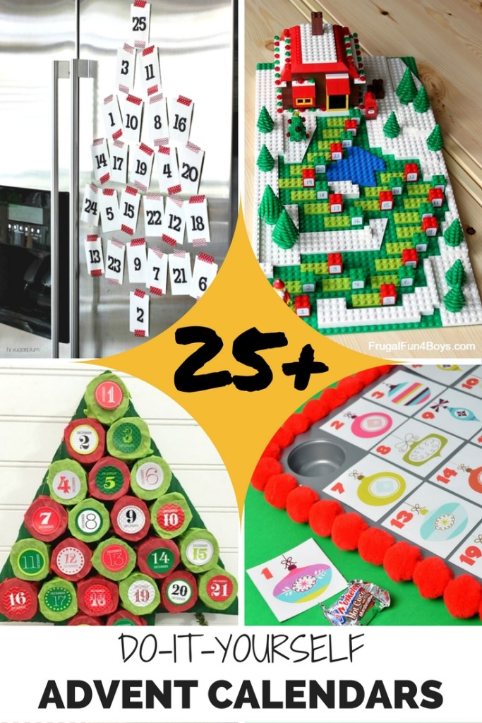 25+ Awesome DIY Advent Calendars