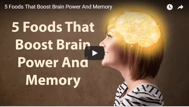 Food and recipes that can help boost your brain power