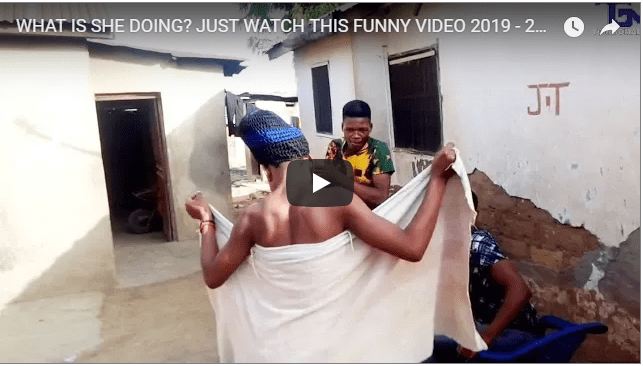 funny videos 2019 who is she tricking?