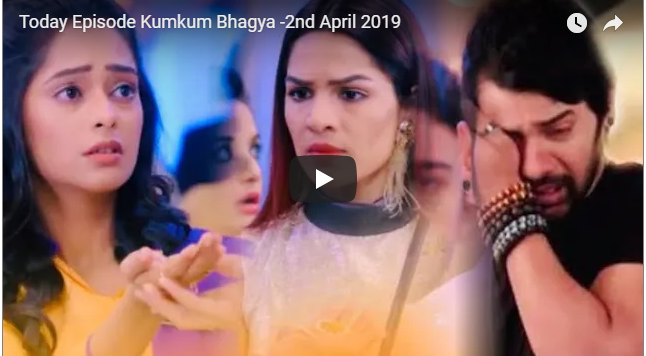 Today episode of Kumkum Bhagya 2 April 2019