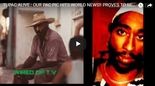 Tupac alive or dead he could be alive watch the video