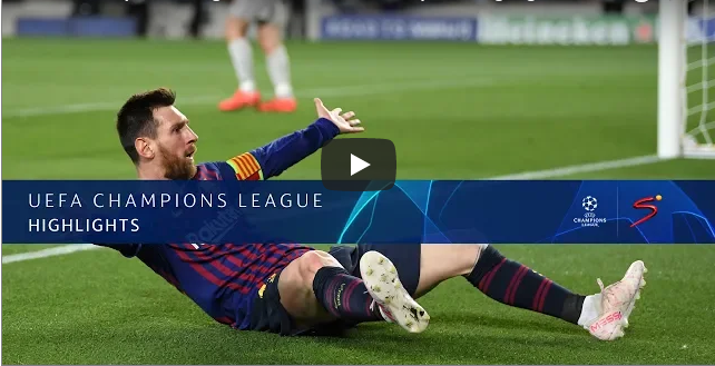 Champions League semi final Barcelona v Liverpool 3-0 (01/05/2019)