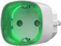 230V sokkel, smart stik med energimonitor, maks belastning 2500W med LED indikation på forbrug. Trådløs 2-vejs 868 MHz, farve: hvid