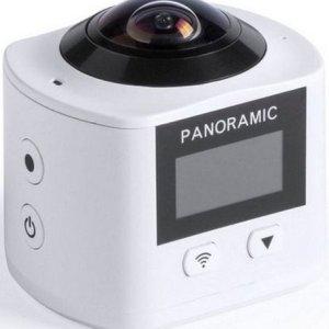 360º Kamera Med Full Hd Lcd Skærm Og Wifi - Hvid