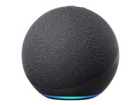Amazon Echo (4tn Generation) - Smart højttaler - Bluetooth, Wi-Fi - App-kontrolleret - 2-vejs - antracit (sort)