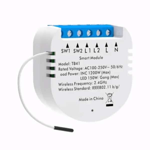 Homeo switch til indbygning med konstant strøm (2 switch)