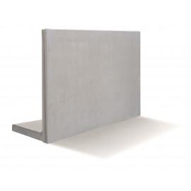 RC Beton L-Stød20KN/m2 100 x 100 cm - Grå