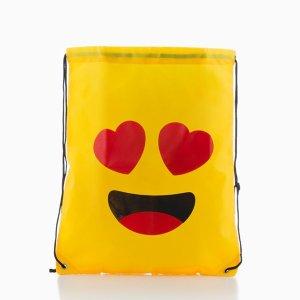 Smileys Rygsæk Med Træksnor - Love