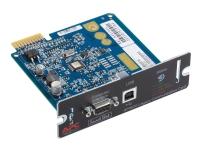 APC Legacy Communications SmartSlot Card - Adapter for fjernadministration - SmartSlot - USB, seriel - sort - for Smart-UPS 1000, 2200, 3000 Smart-U