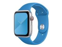 Apple 44mm Sport Band - Urrem for smart watch - Almindelig størrelse - surfer blå - for Watch (42 mm, 44 mm)