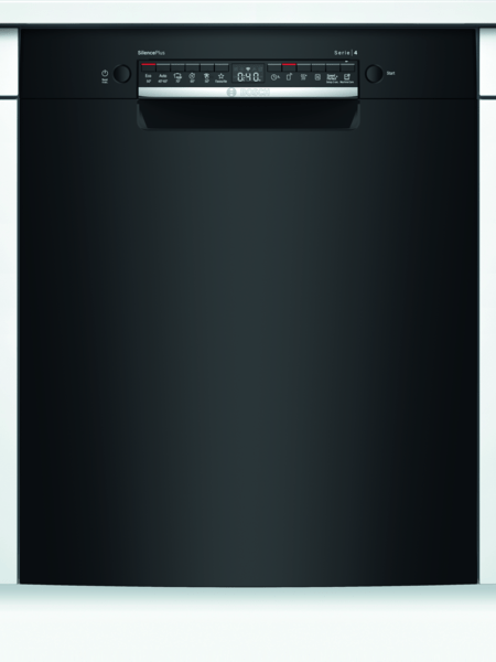 Bosch Smu4hab48s Opvaskemaskine - Sort