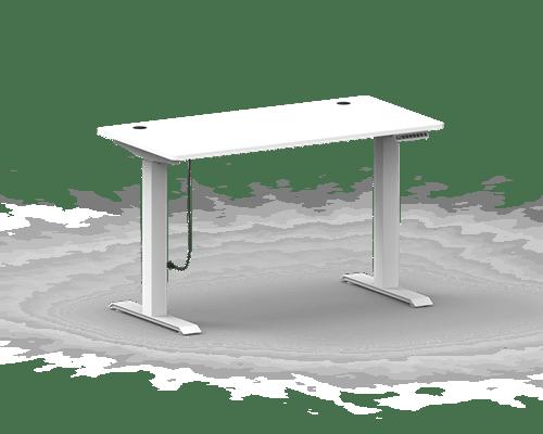 Nordic Office Flexidesk Home Height Adj Desk 120x60cm White