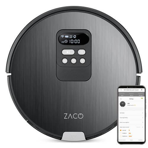 Zaco V85 Robotstøvsuger - Aluminium