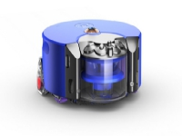Dyson 360 Heurist robotstøvsuger 0,33 L Poseløs Blå, Nikkel