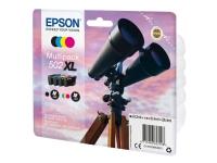 Epson 502XL Multipack - 4 pakker - XL - sort, gul, cyan, magenta - original - blister - blækpatron - for Expression Home XP-5100, XP-5105 WorkForce