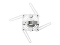 SMS Projector WL ShortThrow V+ - Monteringspakke (vægbeslag, monteringsplade) for projektor - hvid, aluminium