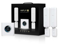 Ubiquiti AmpliFi Home Wi-Fi System AFi-HD - Wi-Fi-system (router, 2 extendere) - op til 20.000 sq.ft - mesh - GigE - 802.11a/b/g/n/ac
