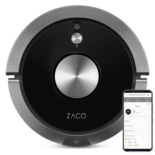 Zaco A9s Robotstøvsuger - Sort/sølv
