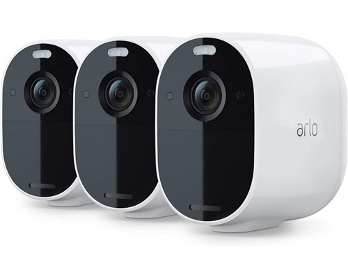 Arlo Essential Spotlight Camera White 3-pack