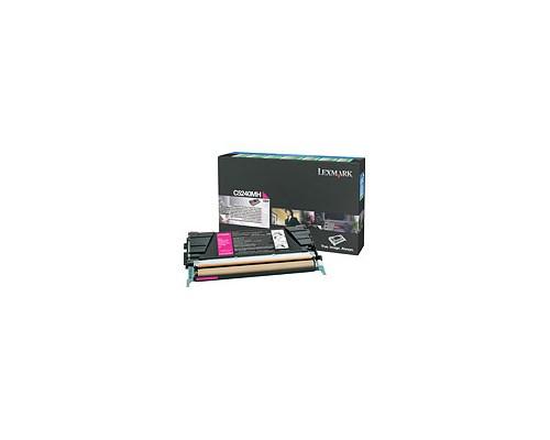 Lexmark Toner Magenta 5k C524 Return