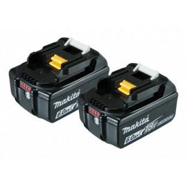 Makita Batterier 2 stk. 6,0 ah - 197428-2