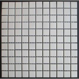 Mosaik Hvid Blank 23x23 mm
