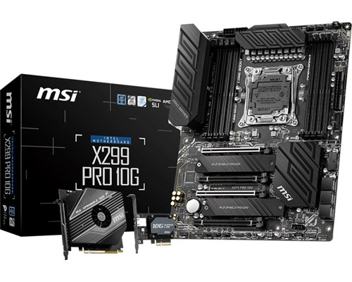 Msi X299 Pro 10g Atx Bundkort