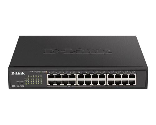 D-link Dgs 1100 V2 24-port Smart Poe Switch 100w