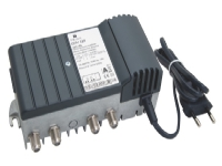 TRIAX GHV 520 er en smart antenneforstærker, der kan justeres fra 0-20 dB forstærkning. Perfekt til at booste signalstyrken.